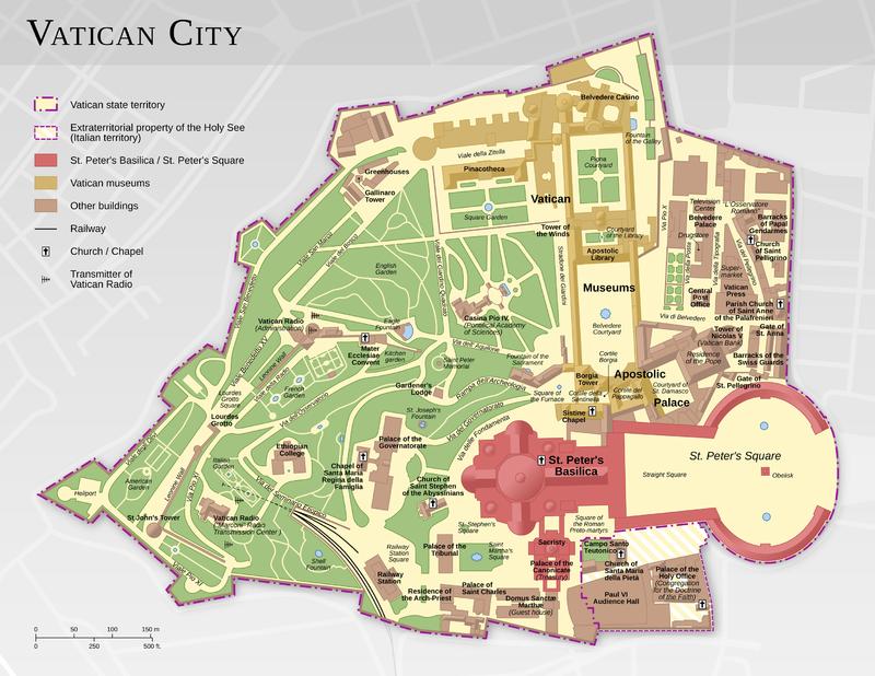 Χάρτης Βατικανού