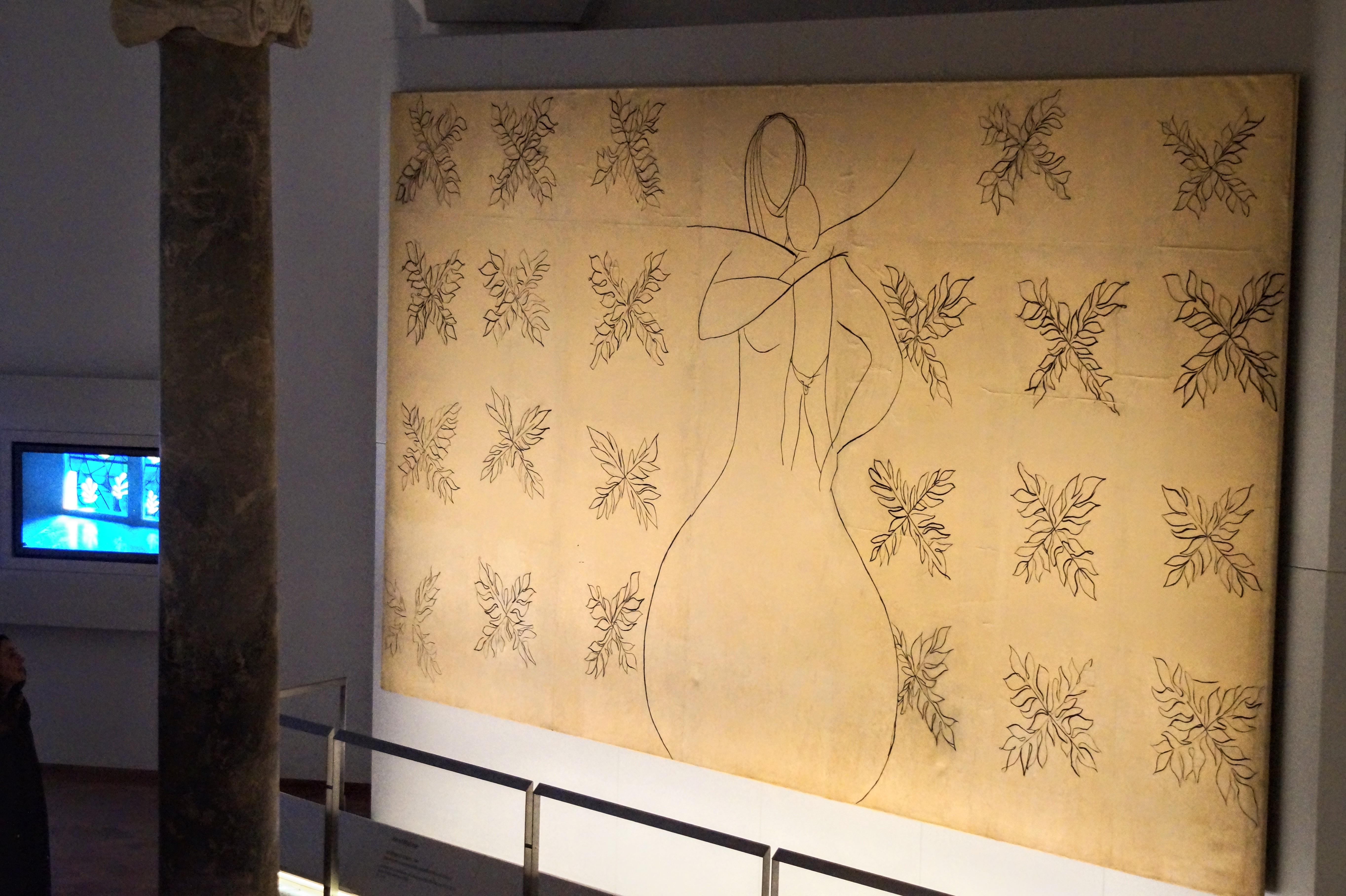 Henri Matisse, La Vierge à l'Enfant (Φωτογραφία Νίκος Πράσσος)